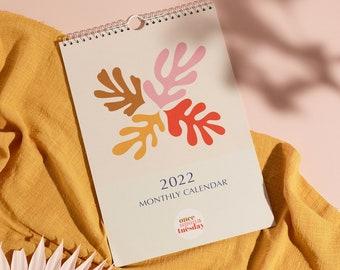 2022 Matisse Inspired Wall Calendar