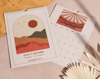 2022 Desert Sun Wall Calendar