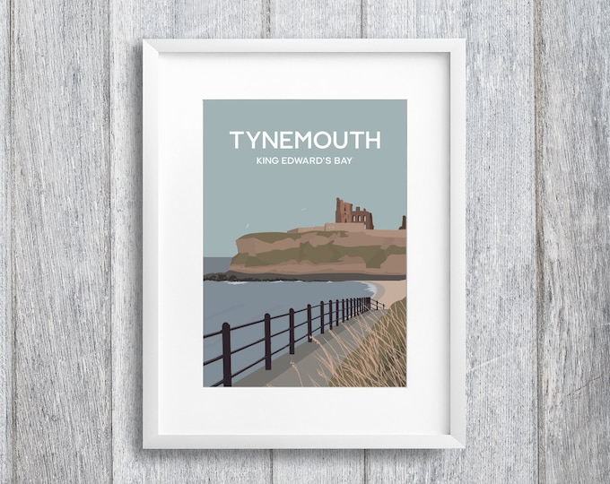 Featured listing image: King Edward's Bay, Tynemouth Art Print