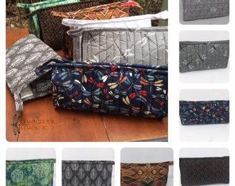 Celtic Knotwork Dopp Bag / Make Up Case / Craft Storage Cosmetic Organizer - Shaving Kit-Travel Bag