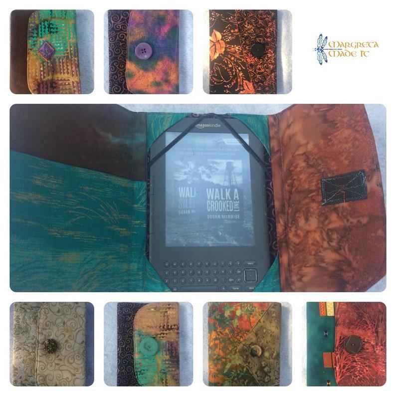 Kindle Reader Cover Padded Kindle Case eReader Cover Custom image 0
