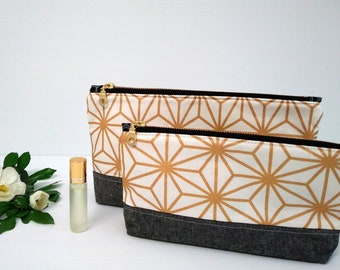 Cosmetic bag, make-up pouch, travel bag, toiletry bag,