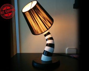 Black Beetlejuice Bed Lamp