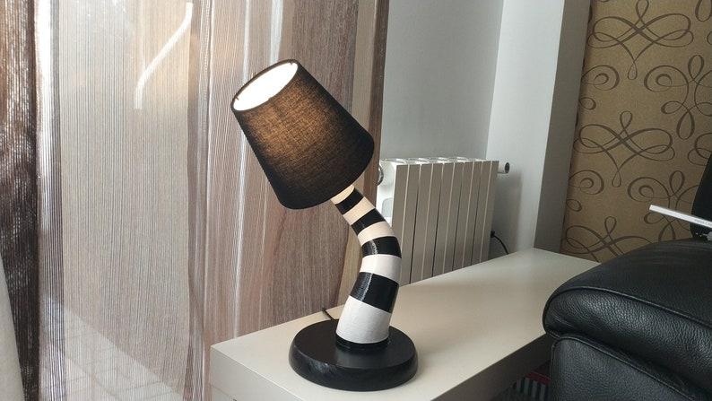 Black Beetlejuice Bed Lamp image 0