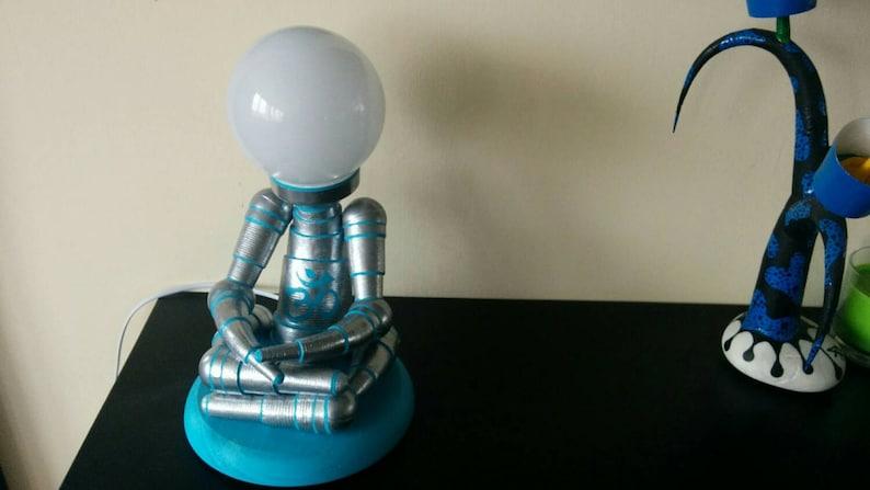 Lotus Robot Lamp image 0