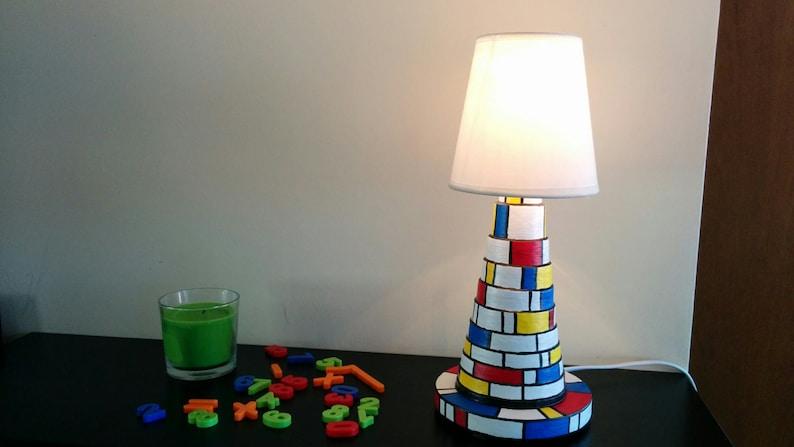 Mondrian table lamp image 0