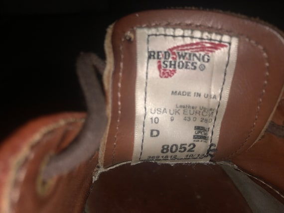Vintage Red Wing 8052 shoes - image 5