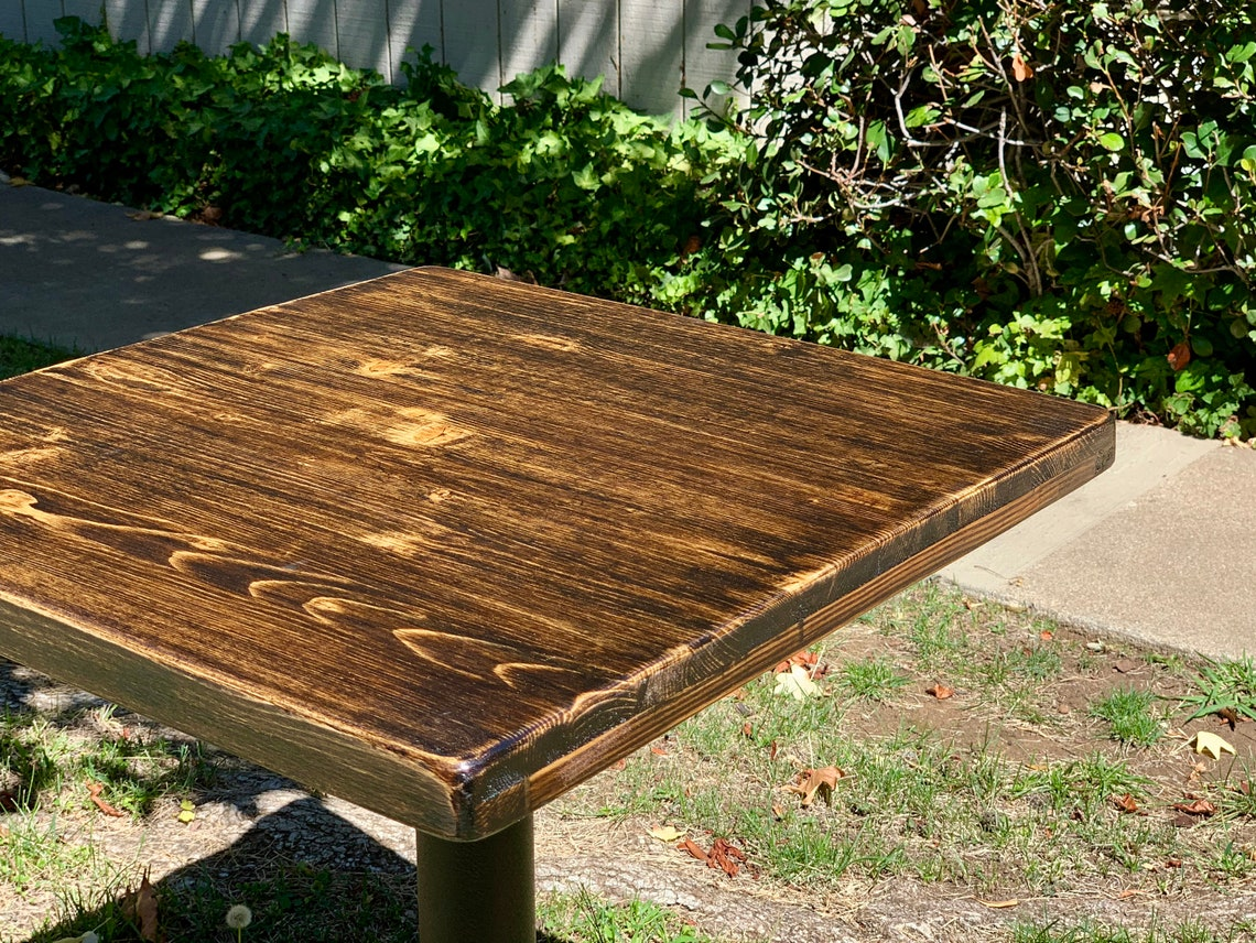 Cottage Restaurant Table Tops - Frame Style