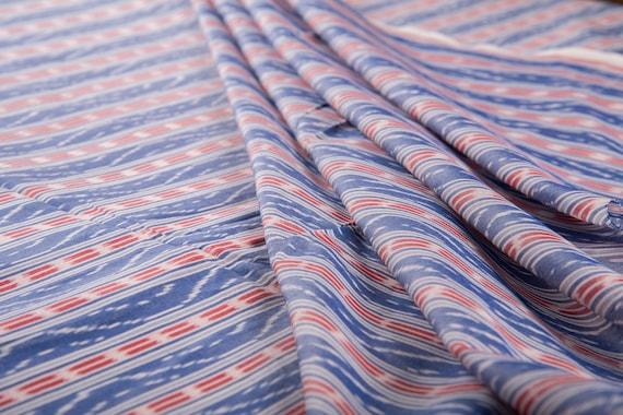 Red /& Orange Ikat Fabric Indian Fabric Sold by Yard IKAT Fashion Cotton Fabric Upholstery Fabric Ikat  Fabric Hand loom Fabric