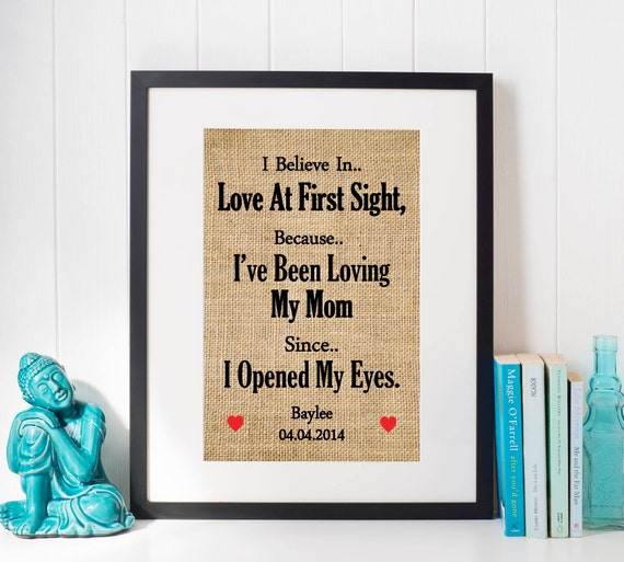I Believe in Love at first Sight Mom Christmas Gift Gift | Etsy