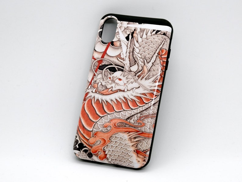 typhoon dragon iPhone case image 0