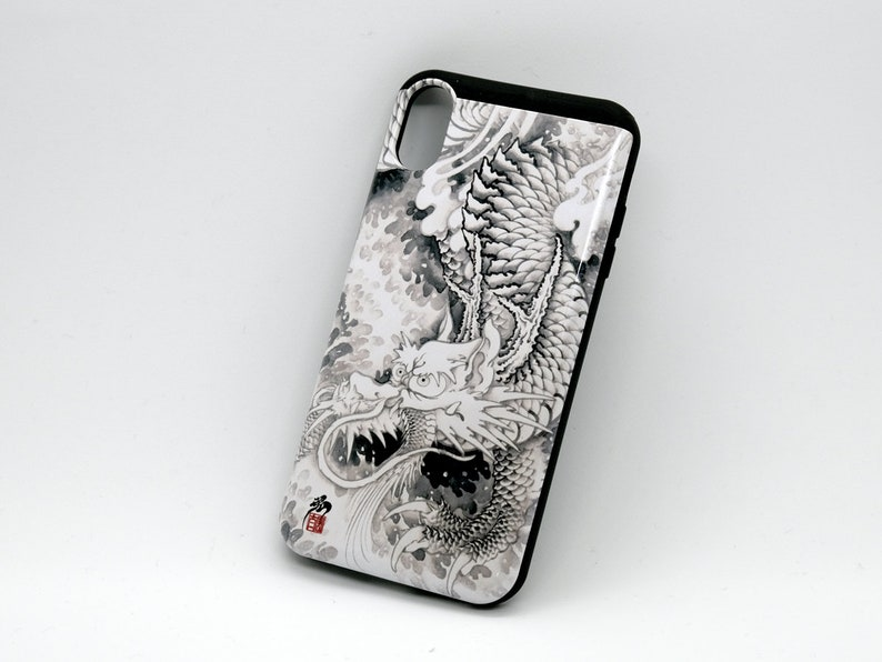 ink dragon iPhone plus case image 0