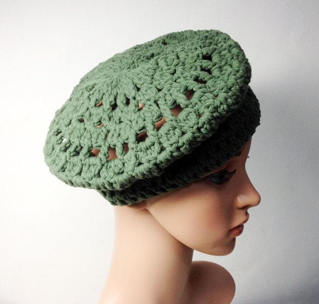 Crochet Pattern Paris Beret Crochet Hat Pattern Crochet Hat