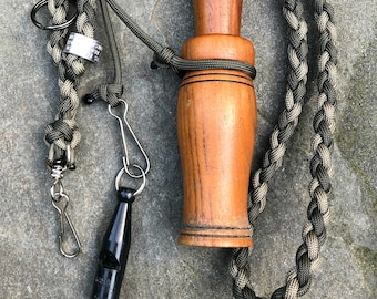 Hunt Test and Training Combination Lanyard