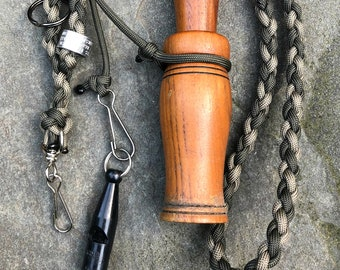 Hunt Test and Training Combination Lanyard - ROUND BRAID