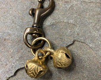 Dog Brass Jingle Bell Wandering/Walking/Senior/Mini/Small/Medium - FREE SHIPPING