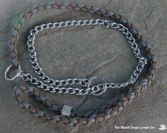 Combination Slip/Chain Lead - available with Free Shipping