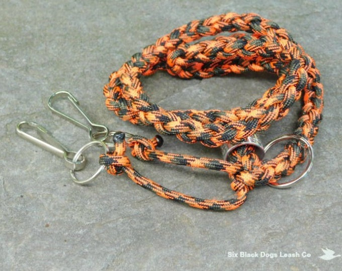 Double Whistle Lanyard