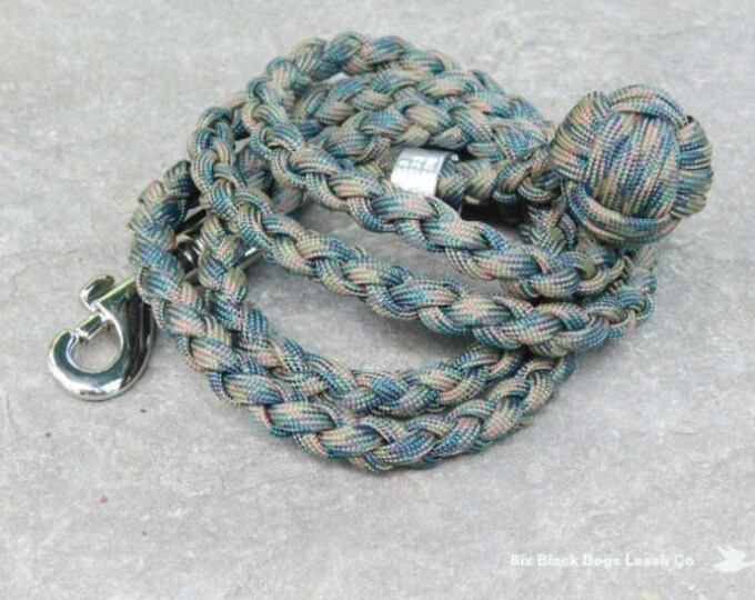 3 Foot Monkey's Fist Snap Bolt Leash