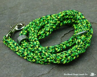SALE! 3' Fancy Square Braid Snap Bolt Leash  Free Shipping!