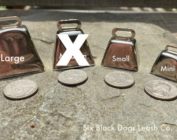 Dog Cow Bell Swivel Clasp Hiking/Wandering/Walking/Senior/Small Dog/Medium Dog/Large Dog - Free Shipping