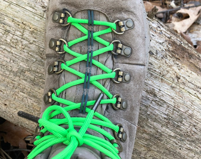 Paracord Shoe Laces with Metal Aglets - Free Shipping