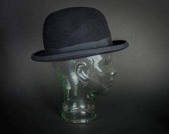 Vintage 1990 s Genuine Fur Felt Bowler Hat e2e2388faa8d