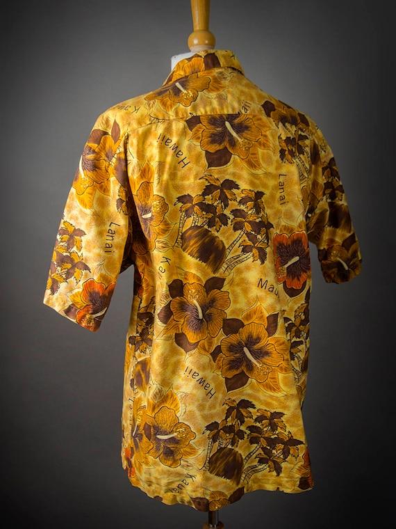 Retro 60s Hawaiian Shirt, 60s HOOKANO Shirt, Retr… - image 5