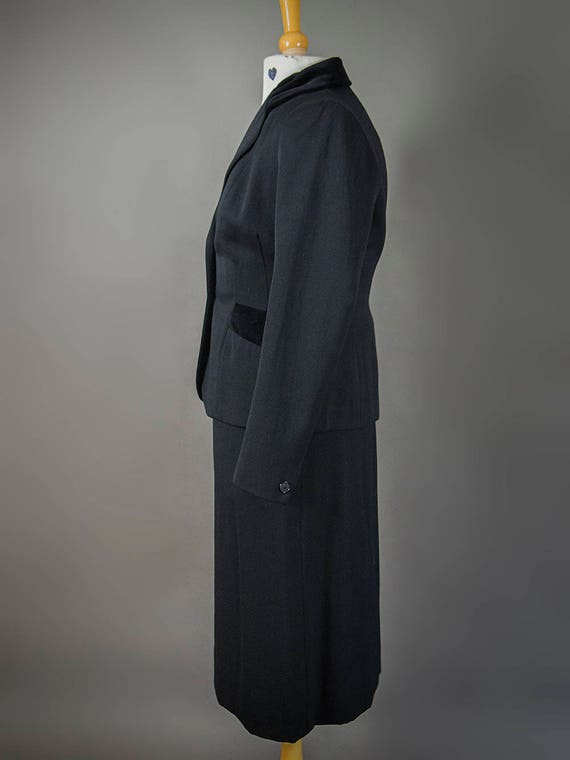 Vintage 40s Suit, Vintage 40s Fitted Suit, Fantas… - image 9