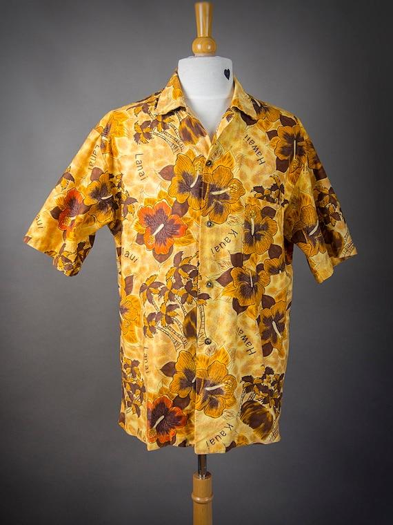 Retro 60s Hawaiian Shirt, 60s HOOKANO Shirt, Retr… - image 2