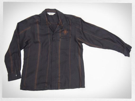 Retro 50s Shirt, 60s Gentlemen Shirt, 60s LANCER S