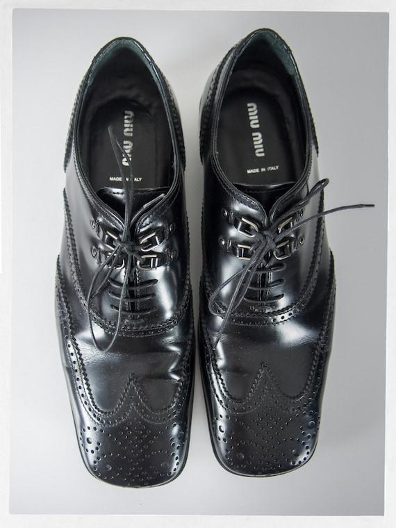 MIU MIU Shoes, Men's Miu Miu Shoes, Designer Shoe… - image 4