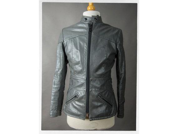 Vintage 60s Motorcycle Jacket, 70s Cafe Racer Jack