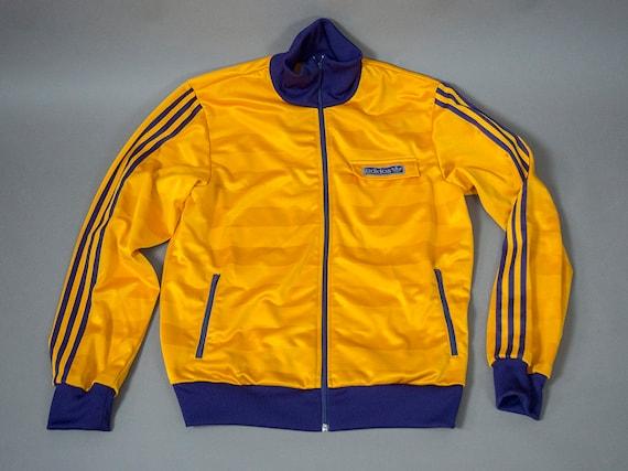 58e71a50a52fe Retro 70's Style Adidas Track Jacket Vintage 90's | Etsy