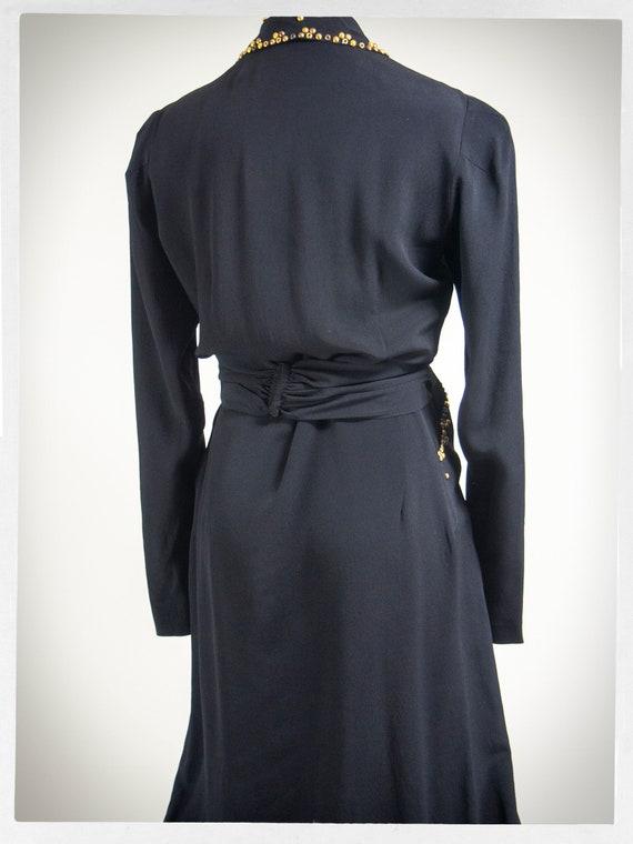 Vintage 40s Dress, 40s Dress, Vintage Fashion, 40… - image 7