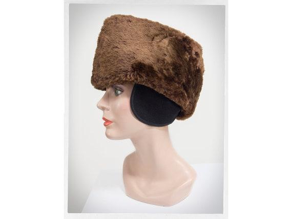 Vintage Mouton Hat, Vintage Cossack Hat, Russian F