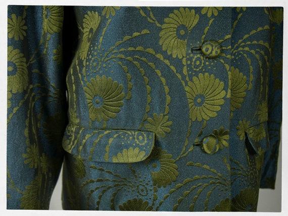 Vintage 70s Jacket, 80s Brocade Jacket, Vintage 7… - image 5