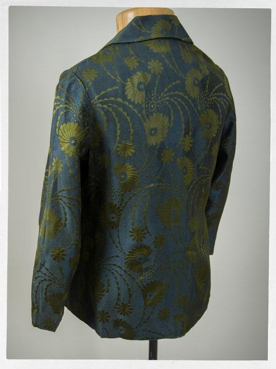 Vintage 70s Jacket, 80s Brocade Jacket, Vintage 7… - image 4