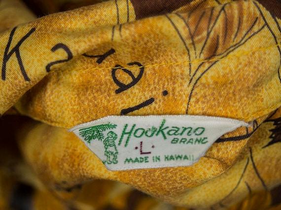 Retro 60s Hawaiian Shirt, 60s HOOKANO Shirt, Retr… - image 7