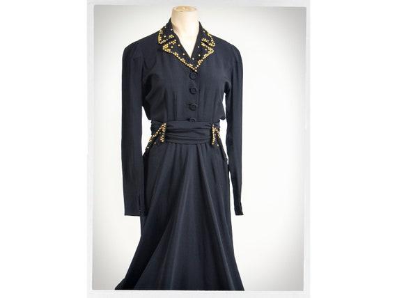 Vintage 40s Dress, 40s Dress, Vintage Fashion, 40… - image 1