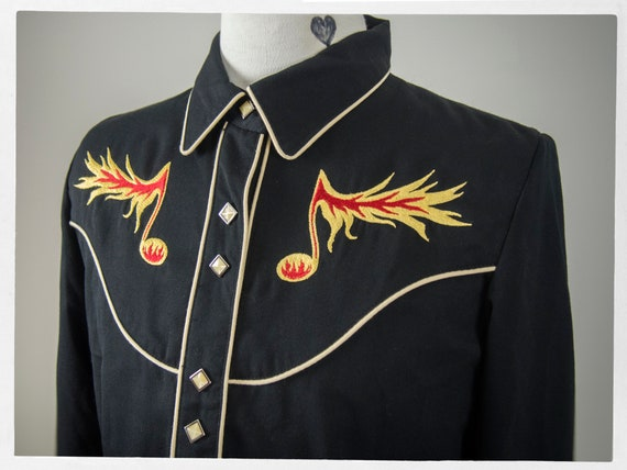 80s Retro Western Shirt, 80s Style Western Shirt,… - image 2