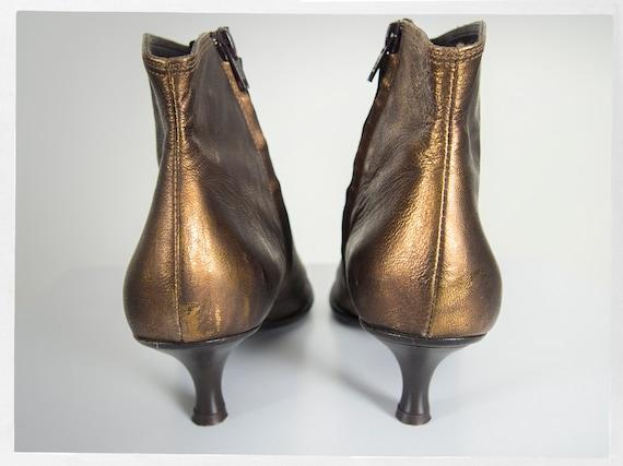 Vintage 90s Bootie, Retro Ankle Boots, Retro 90s … - image 7
