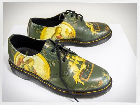 Retro Punk Shoes, Dr. Martens Shoes, Retro DR. MAR