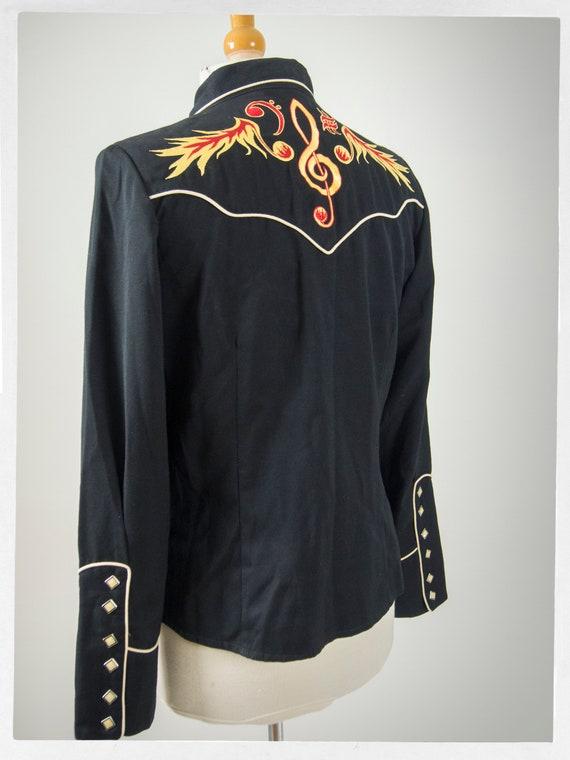80s Retro Western Shirt, 80s Style Western Shirt,… - image 4