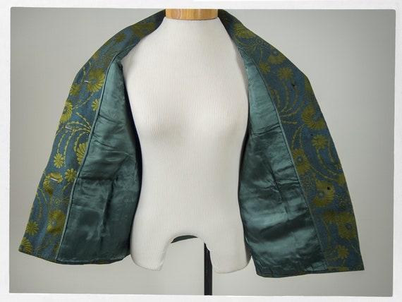 Vintage 70s Jacket, 80s Brocade Jacket, Vintage 7… - image 2