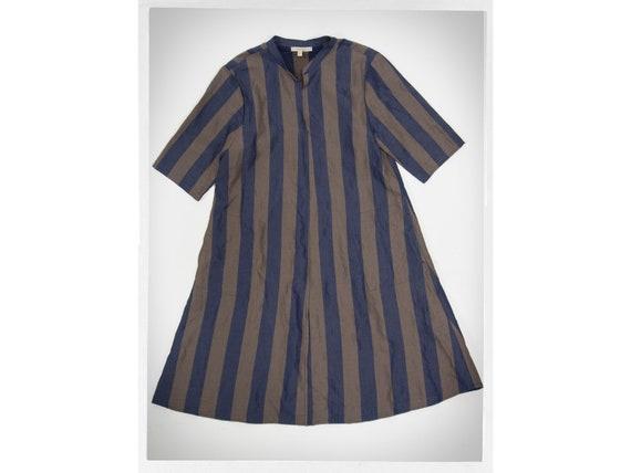 Retro Tunic Dress, French Designer Dress, Minimali