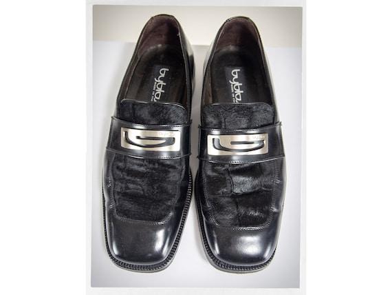 Retro 90s Men's Shoes, 90s BYBLOS Shoes, 90s Desig