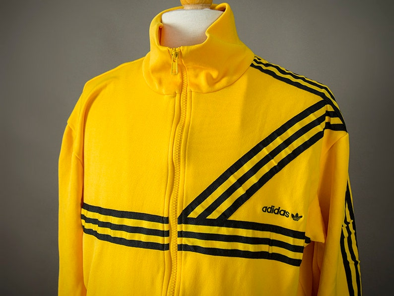 356346de629c Retro 80 s Adidas Track Jacket Vintage 80 s Adidas