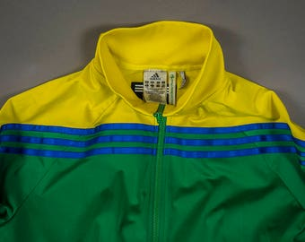 Vintage Adidas Jacket, Retro 90s Adidas Track Jacket, Vintage Sports Wear, Vintage Fashion, Vintage Athletic Jacket, Vintage Adidas Wear