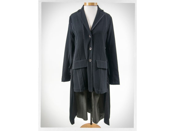 Vintage 90s Jacket, 90s Deconstructed  Coat, Japan